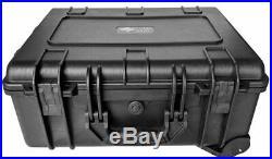 10 Pistol & PDWithRevolver/SBR/Handgun Case Bag Box for Airline/TSA Car LOCKABLE