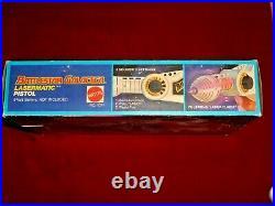 1978 Mattel Battlestar Galactica Lasermatic Pistol No. 1071 with Original Box