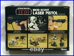 1983 Star Wars Return of Jedi ROTJ Biker Scout Laser Pistol Sealed Boxed MISB