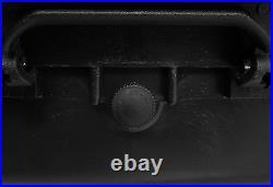 5 Gun Hard Case Pistol Handgun Firearm Storage Carrying Waterproof Lockable Box