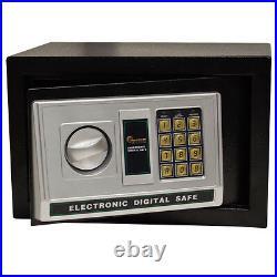 9mm Gun Safe Digital Electronic Security Lock Handgun Box Pistol Storage Vault