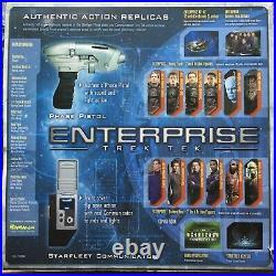 Art Asylum Star Trek Tek Enterprise Communicator/Phase Pistol New