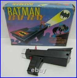 BATMAN BAT-RAY 1977 REMCO Toy Ray Gun Pistol in Original Box DC Comics