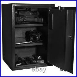 Barska Large Biometric Fingerprint Lock Security Safe Box AX11650