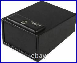 Bulldog Magnum Biometric Pistol Vault Gun Safe Finger Print Lock Box Work Home