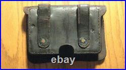 CIVIL War Colt Pistol Cartridge Box Maker Marked, W. Kinsey And Co. Newark Nj
