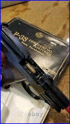 CMC Mgc Marushin Like Quality Walther P38 Gestapo Agent Gun Pistol In Box