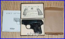Colt 1908.25 Cal. Semi-Auto Box & Manual
