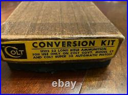 Colt 1911.22LR Conversion Kit, Complete, Rare, 100% blue, never used, in box