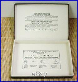 Colt 1911 Pre-War & Post War Gov & Commercial Box