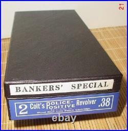 Colt Bankers Special Box. 22 Cal. Or. 38 Cal. Also for Vintage 2 inch Det. SPL
