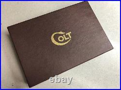 Colt Commander Model Leatherette Box & Paperwork 1944-1954