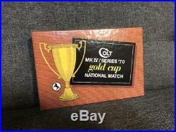 Colt Gold Cup National Match 70 Series Box 1970-1972