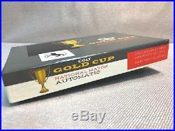 Colt Gold Cup National Match PRE-70 Series Box & paperwork 45 cal or 38 Caliber