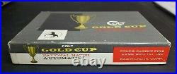 Colt Gold Cup National Match Pre Series 70 Box 45 Acp Vintage Colt Rare Original