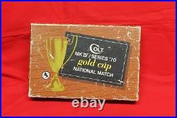 Colt Gold Cup National Match Series 70 Box 45 Acp Vintage Colt Rare Original