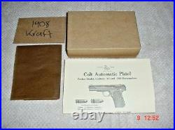 Colt Military Model 1908 Box
