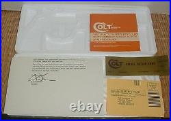 Colt Single Action Army & Colt New Frontier Gen. III Box & Paperwork 4 3/4-71/2