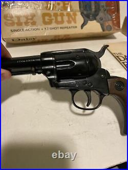 Daisy Peacemaker BB Six Gun Pistol Model 179 Vintage 1973 In Box Cowboy Western