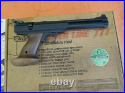 Daisy Power Line Mod. 777 Match Air Pistol. 177 cal. With BOX Papers Etc