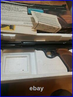 Daisy Power Line Model 717 Single-Pump Pneumatic. 177 Air Pistol With Box