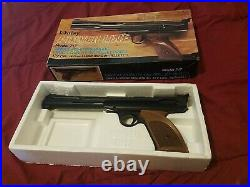 Daisy Power Line Model 717 Single-Pump Pneumatic. 177 Air Pistol With Box Nice