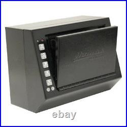 Electronic Access Pistol Box Small Handgun Safe Vault Organizer Lock Home Office