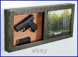 Everyday carry organizer, hidden gun furniture, self defense storage box TD