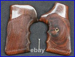 FUZZY FARRANT S&W SMITH WESSON N FRAME SQUARE BUTT BACOTE COMBAT GRIPS With BOX