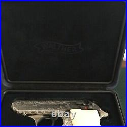 Factory Walther PPK PPK/s Presentation Case Case ONLY No Outer Box Nice