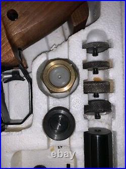 Feinwerkbau Model 2 CO2.177cal. Pellet pistol Original Box & Extras