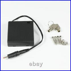 Fingerprint Biometric Handgun Safe High Security Lock Vault Hand Gun Pistol Box