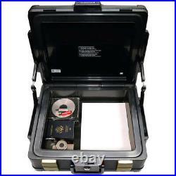 Fire Proof Waterproof Safe Home Lock Box Security Document Cash Gun Storage NEW