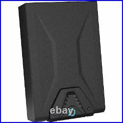 Gun Pistol Portable Safe Metal Security Box Storage Case Biometric Fingerprint