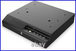Gun Safe Fingerprint Quick Access Lock Box Biometric Drawer Style Pistol Storage