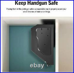 Gun Safe, Gun Cabinets with Biometric Fingerprint Gun Safe Box for Pistols (S1f)