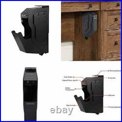 Gun Safe Handgun Box Mounted Firearm Safety Device Pistol