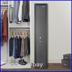Gun Safe Security Firearm 39 Rifle Storage Cabinet Shelf Digital/Blade Lock Box