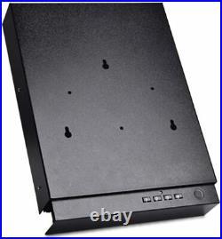Gun Safe for Pistols Fingerprint Handgun Safe Box Quick-Access Smart Biometric a
