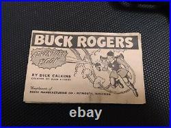Holy Grail Vintage Buck Rogers U-235 Atomic Pistol Boxed Adventure Book Complete