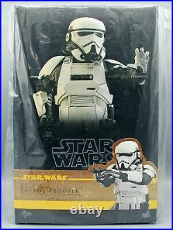 Hot Toys MMS494 Solo A Star Wars Story PATROL TROOPER 1/6 Scale Figure NIB