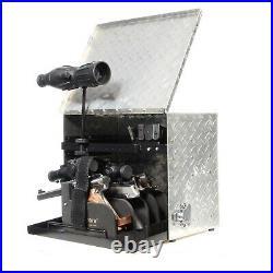 Hyskore Competition Range Pistol Box Diamond Plate Target Shooting Gear CHROME