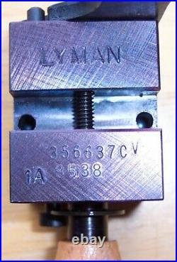 LYMAN/IDEAL 356637 9mm 125 GRAIN DEVASTATOR HOLLOW POINT MOULD MOLD NEW IN BOX