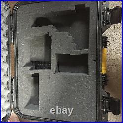Large Gun Hard Case Lockable Safe Storage Carry Box Pistol Handgun Revolver Big