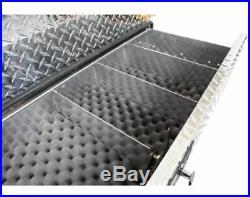 Long Gun Safe Truck Bed Vault Vehicle Transport 5 Rifle Shotgun Handgun Tool Box