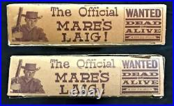 MARE'S LAIG cap rifle/pistol'WANTED DEAD OR ALIVE with Box by MARX