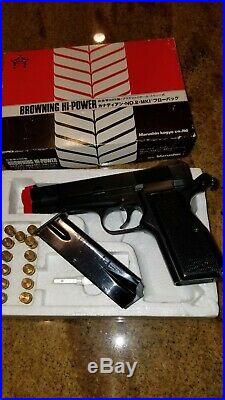 MARUSHIN INGLIS HI POWER 9mm PROP PISTOL GUN REPLICA WITH BOX & PAPERS