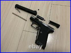 MGC HK P7M13 GBB Airsoft pistol with original box, papers and accessories