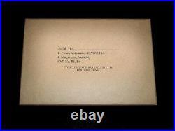 MIL SPEC USGI Kraft box for 1911A1 COLT PIstol WW2 with cosmoline wrap