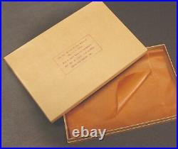 MIL SPEC USGI Kraft box for 1911A1 ITHACA PIstol WW2 with cosmoline wrap